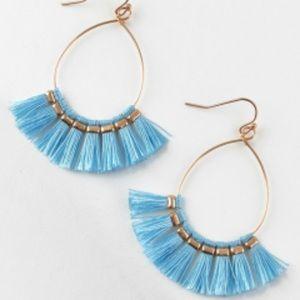 Jewelry - Fringe tassel fish hook earrings